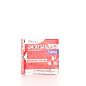 Dafalgan Caps 500 mg