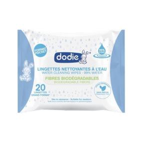 Dodie Lingettes Nettoyantes à l'Eau X20