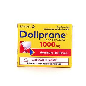 Doliprane 1000 mg sachets poudre