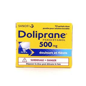 Doliprane 500 mg  sachet poudre