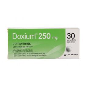 Doxium 250 mg 30 comprimés