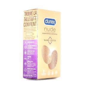 Durex Nude Préservatifs Sans Latex