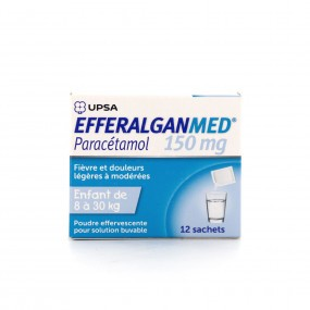 EfferalganMed 150 mg poudre 12 sachets