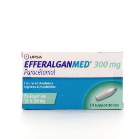 EfferalganMed 300 mg 10 suppositoires