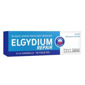 Elgydium Repair Gel Buccal Apaisant, Protecteur, Réparateur