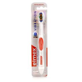 ELMEX Brosse à dents ProAction Médium avec brins vibrants