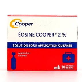 Eosine cooper 2% solution 10 unidoses