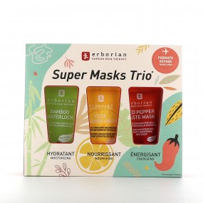 Erborian Super Masks Trio format voyage