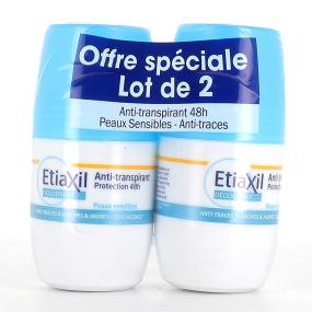 Etiaxil déodorant roll on - lot de 2