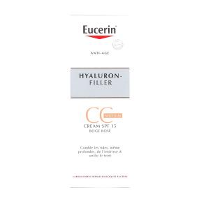 Eucerin Hyaluron-Filler CC Cream Light ou Medium 50ml