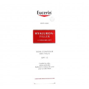 Eucerin Hyaluron Filler Volume Lift SPF15 Contour des yeux 15ml