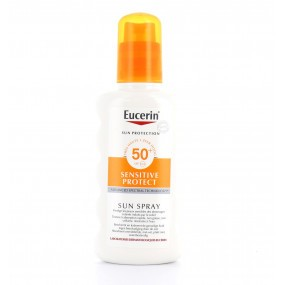 Eucerin Sun Sensitive Protect SPF 50+ Spray corps