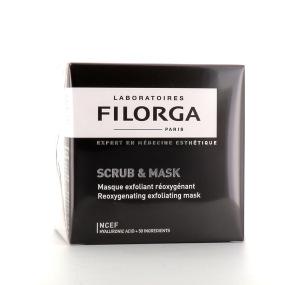 Scrub & Mask masque exfoliant réoxygénant 55ml Filorga