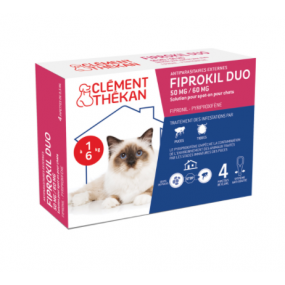 Fiprokil DUO Chat Spot-On Antiparasitaires