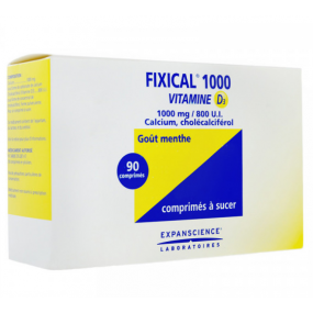 Fixical 1000 Vitamine D3 1000mg