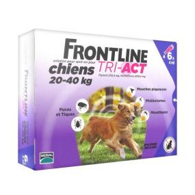 Frontline tri-act 3 et 6 pipettes