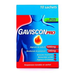 Gaviscon pro menthe sans sucre
