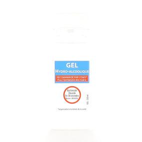 Gel Hydroalcoolique sans parfum pour l'antisepsie des mains