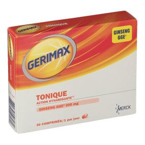 Merck - Gerimax - Tonique - 30 comprimés