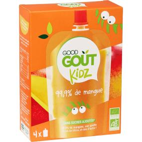 Good gout Kids gourges aux fruits x4