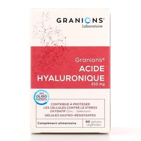 Granions Acide hyaluronique 60 gélules végétales