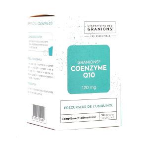Granions Coenzyme Q10 120mg - 30 gélules
