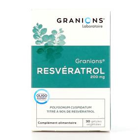Granions Resvératrol 30 gélules végétales