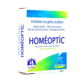 Homéoptic collyre 10 unidoses Boiron