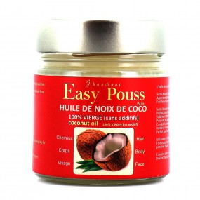 Easy pouss Huile de noix de coco vierge sans additifs