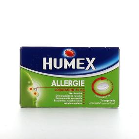 Humex Allergie Loratadine 10 mg comprimés