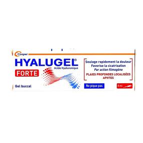 Hyalugel Forte Gel buccal 8 ml