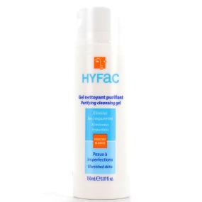 Hyfac gel nettoyant purifiant