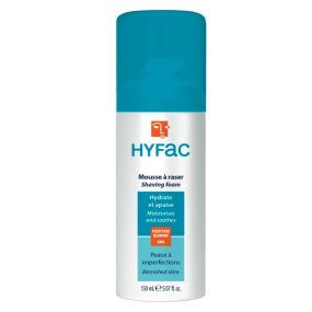 Hyfac mousse à raser dermatologique 150 ml