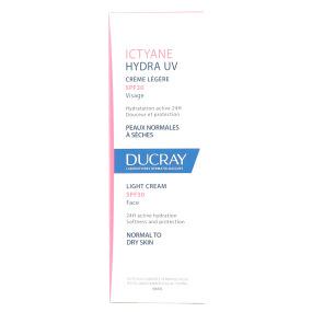 Ictyane hydra UV creme légère SPF30 visage