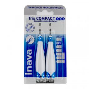Inava Brossettes Trio Compact 1/1/1