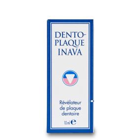 INAVA Dento Plaque Révélateur de plaque dentaire 10ml
