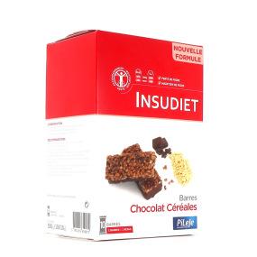 INSUDIET Barre Chocolat Céréales 10 barres