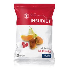 INSUDIET Mini cake Multifruits 6 portions