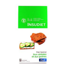 INSUDIET Pain spécial Céréales Graines 14 portions