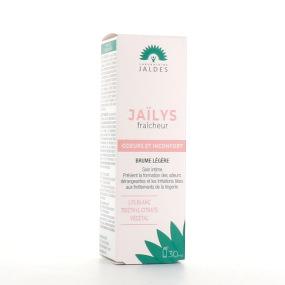 Jaïlys fraicheur Brume légère Soin pour l'intimité odeurs et inconfort
