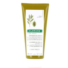 Klorane Baume Après-shampooing Épaisseur et Vitalité à l'extrait essentiel d'Olivier 200ml