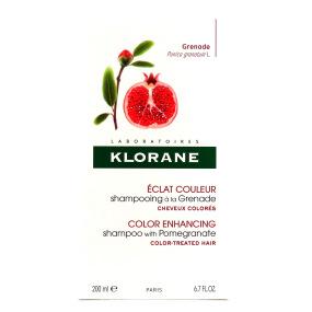 Klorane Shampooing à la Grenade Éclat couleur