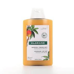 Klorane Shampoing Nutrition Cheveux Secs Mangue