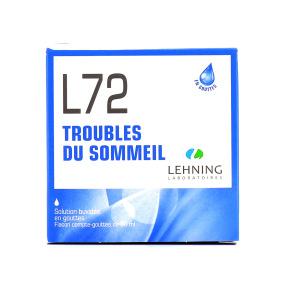 L72 sommeil gouttes