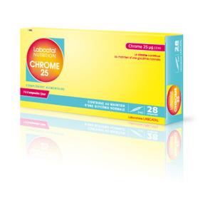 Labcatal Nutrition Chrome 25 µg