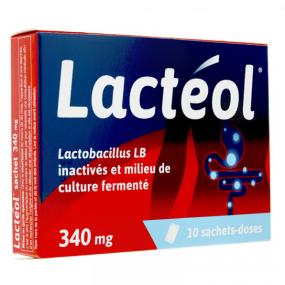 Lactéol 340mg 10 sachets