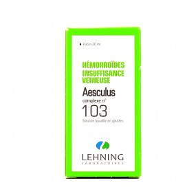 Lehning Aesculus Complexe n°103 solution buvable 30 ml
