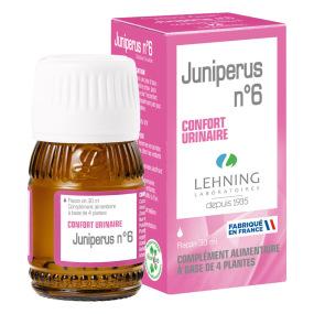 Lehning Juniperus Complexe 6 Solution buvable en gouttes 30 ml