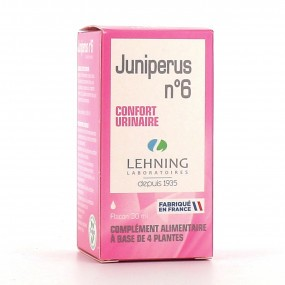 Lehning Juniperus n°6 Solution buvable en gouttes 30 ml