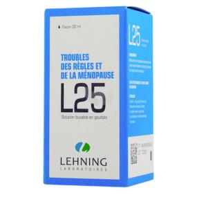 Lehning L25 Solution buvable en gouttes 30 ml